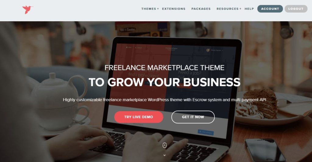 Check This Amazing WordPress Freelance Marketplace Theme