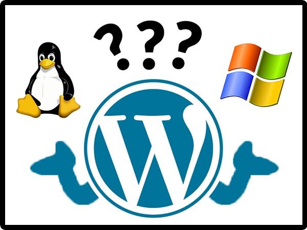 Linux or Windows for WordPress Hosting
