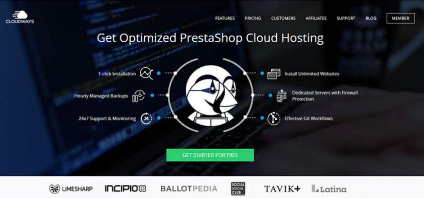 Optimized PrestaShop Cloud Hosting – Fast And Secure