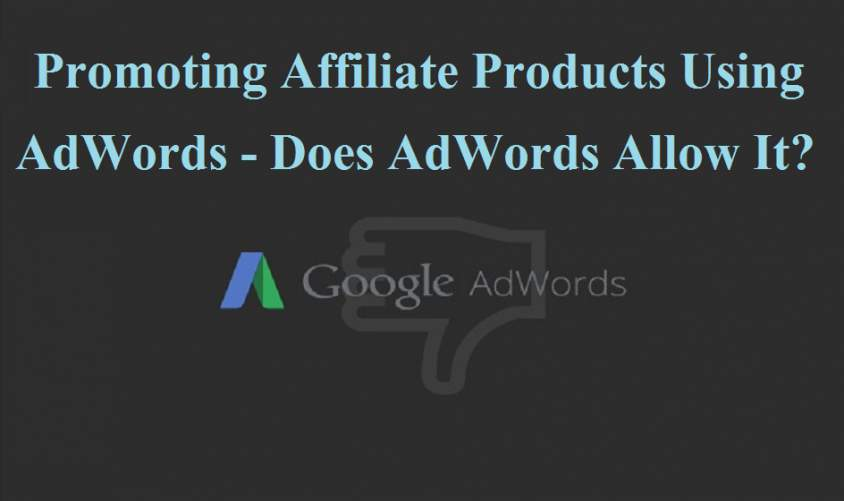 does-adwords-allow-affiliate-ad
