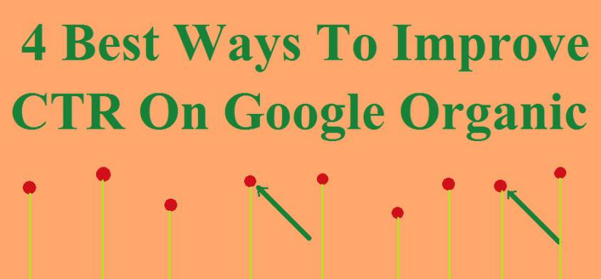 4 Best Ways To Improve CTR On Google Organic Search