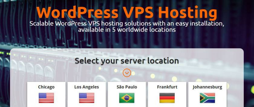 Scalable optimized WordPress VPS hosting solution in cheap price on Host1Plus