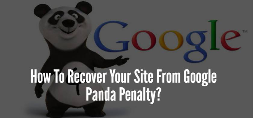 How To Recover Your Site From Google Panda Penalty?