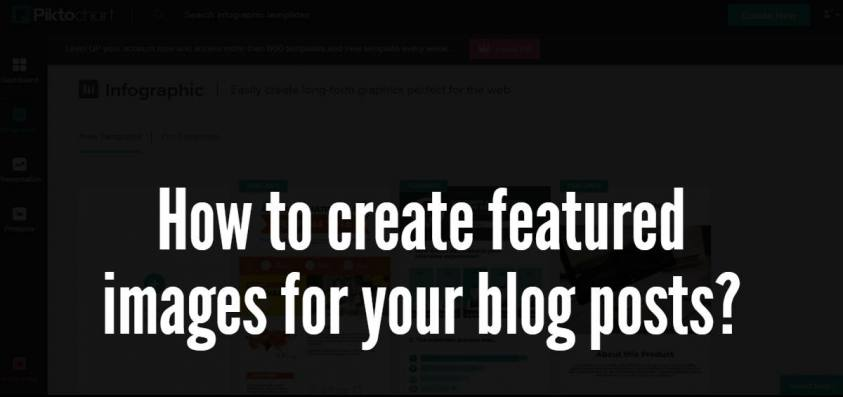 How to create featured images for your blog posts?