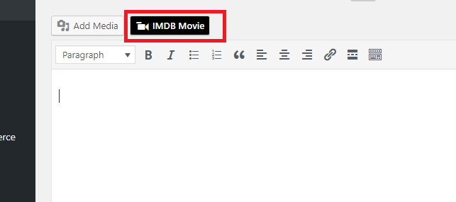 IMDB Movie WordPress Plugin Options