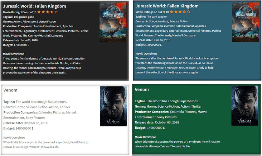IMDB Movie WordPress Plugin With TMDB API