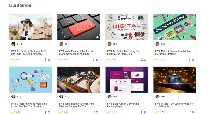 WordPress Marketplace Theme
