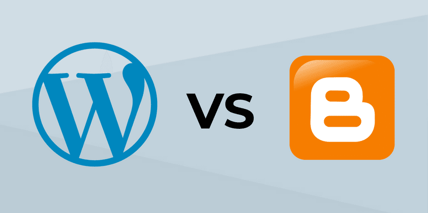 WordPress vs Blogger – which one is better to start your blog?