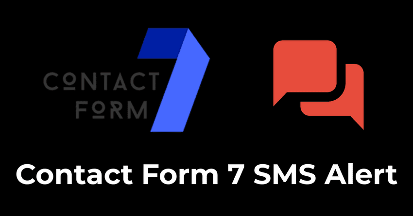Send SMS alert from Contact Form 7 WordPress Plugin